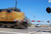 Diesel locomotive — Stock Photo