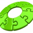 3d puzzle ring — Stock Photo #66393557