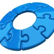3d puzzle ring — Stock Photo #66393631