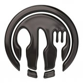 Spoon, knife, and fork — Stock Photo