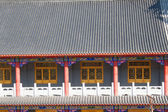 Temple roof tiles — Stock Photo