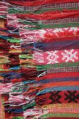 Wol sjaal — Stockfoto