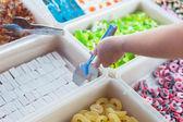Tienda de caramelos de gelatina — Foto de Stock
