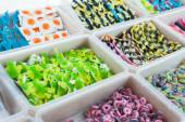 Jelly candy shop — Stock Photo