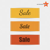 Clothing labels. Vector — Stock Vector
