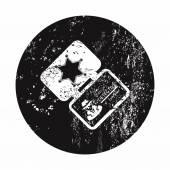 Vektor-illustration der moderne ikone — Stockvektor