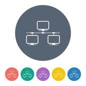 Vektor illustration av modern ikon — Stockvektor