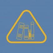Современное образование значок — Cтоковый вектор