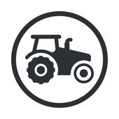 Modern farm icon — Stock Vector
