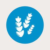 Icono moderno de la granja — Vector de stock