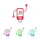 Ilustracja wektorowa nowoczesne sylwetka ikony — Wektor stockowy