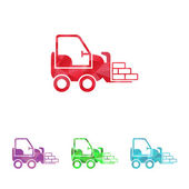 Illustration of vector icon — Stock Vector