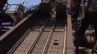 Skip hoists — Stock Video