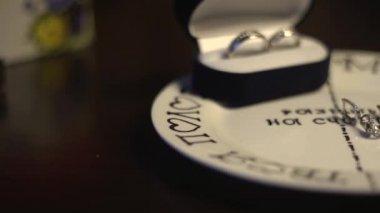 結婚指輪 — ストックビデオ