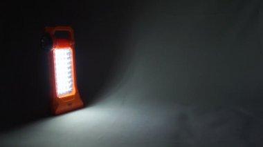 Lantern lamp — Stock Video