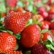 Red ripe fresh strawberries — Stock Photo #58749429