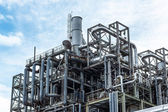 Factory of the refinery — Stock Photo