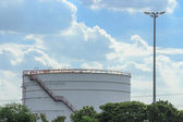 Petroleum oil storage — Stock Photo
