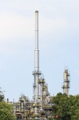Industrial of oil refinery — Stock Photo