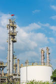 Oil refining industrial — Stock Photo