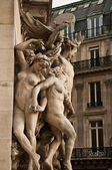 Garnier opera of Paris - France — Stock Photo