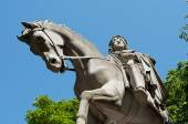 Henri IV statue in place of Vosges in Paris — Stock Photo