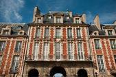 Building place of Vosges in Paris — Stock Photo