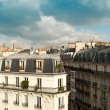 Typical ancient parisian Building in Paris - France — Stock Photo #52828499