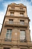 Typical ancient parisian Building in Paris - France — Stock Photo