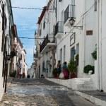 Cadaques village -Costa brava - Spain - taken 2 July 2013 — Stock Photo #53090387