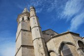 The Madeleine Church in Beziers — Stock Photo