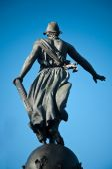 Sculpture triumph of the republic — Stock Photo