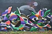 Art urbain - abstrait — Photo