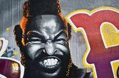 Urban Art - Mister T — Stock Photo