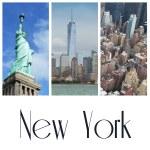 New York city collage — Stock Photo #57552241