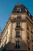 Edificio parigino — Foto Stock