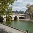 Bridge in Paris (pont neuf) — Stock Photo #63942369