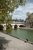Bridge in Paris (pont neuf) — Stock Photo