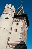 Medieval Gate of Spalen  in Basel, Switzerland — Stockfoto