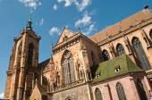 Church in Colmar - Alsace - France — Stock Photo