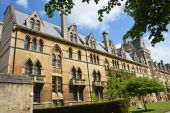 The Meadow building which is part of Christ Church College, Oxford, Oxfordshire, England, UK, Western Europe. — Stock Photo