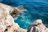 Mediterranean sea coast near Agia Napa, Cyprus — Stock Photo