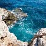 Mediterranean sea coast near Agia Napa, Cyprus — Stock Photo #61330493