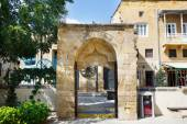 Arch entrance outside the Selimiye Mosque — Stock Photo