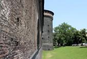 Sforza Castle — Stock Photo