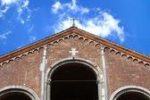 Saint ambrose kathedraal, Milaan, Italië — Stockfoto