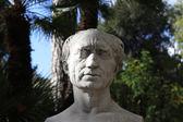 Human Head Marble Statue — Stok fotoğraf