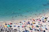 Tropea пляж — Стоковое фото