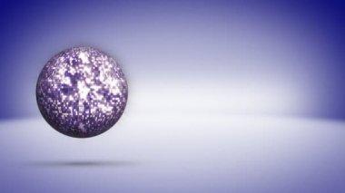 Disco Ball Background — Stock Video