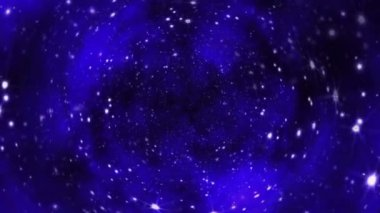 Universe Background Tunnel — Stockvideo